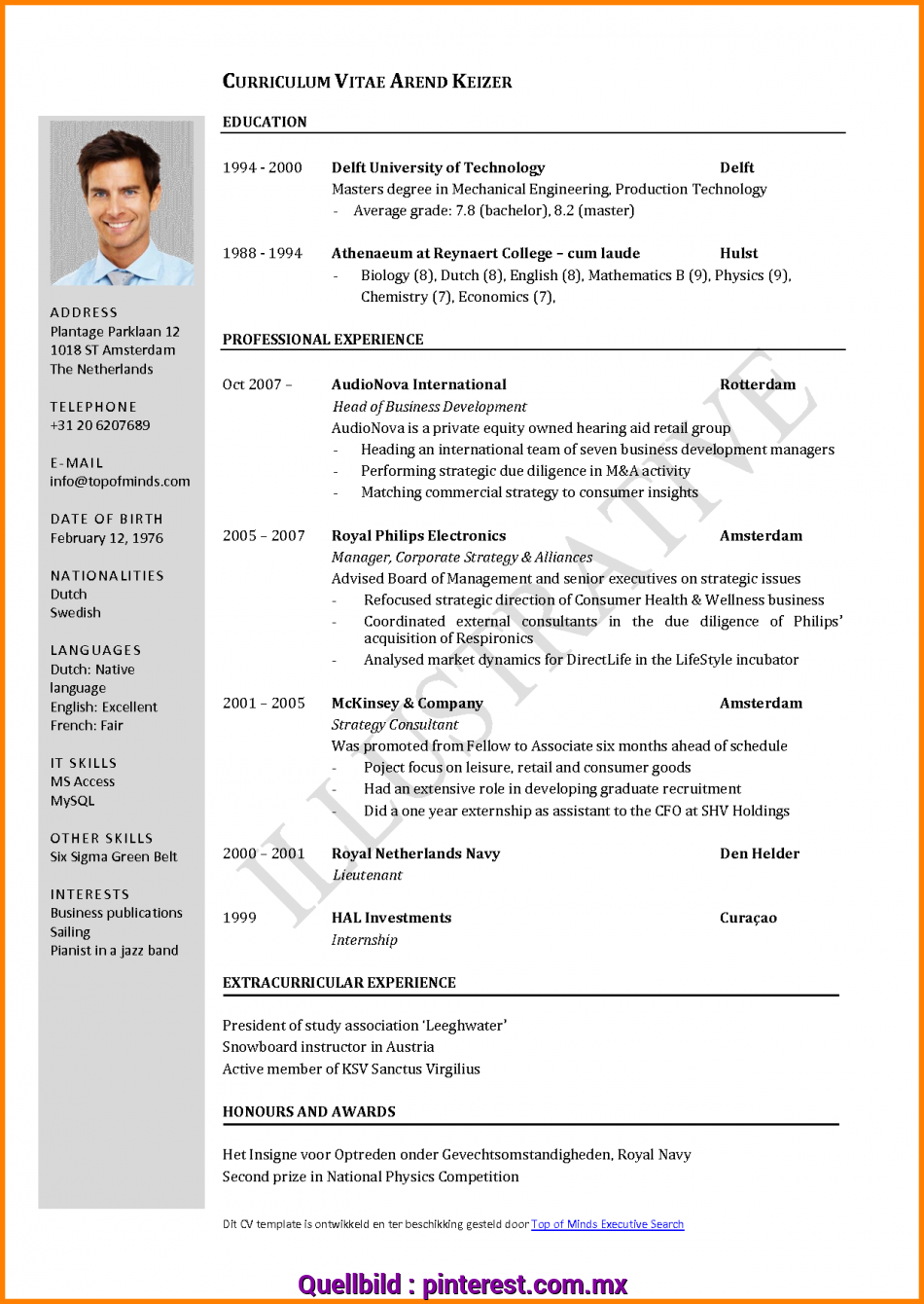 Beste 4+ Curriculum Vitae English Example Pdf, Cashier Resumes