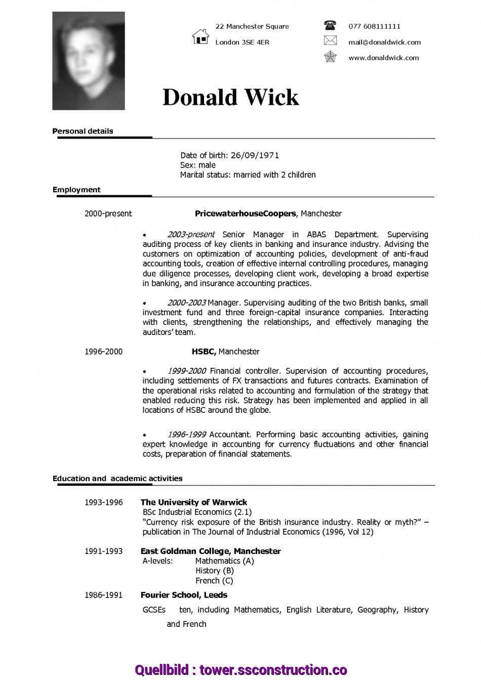 Beste Free Resume Templates Download Template Word Cv English Example