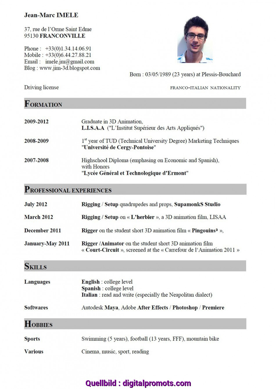 Ausgezeichnet Cv In English Examples Free Madrat Co Resume English Example