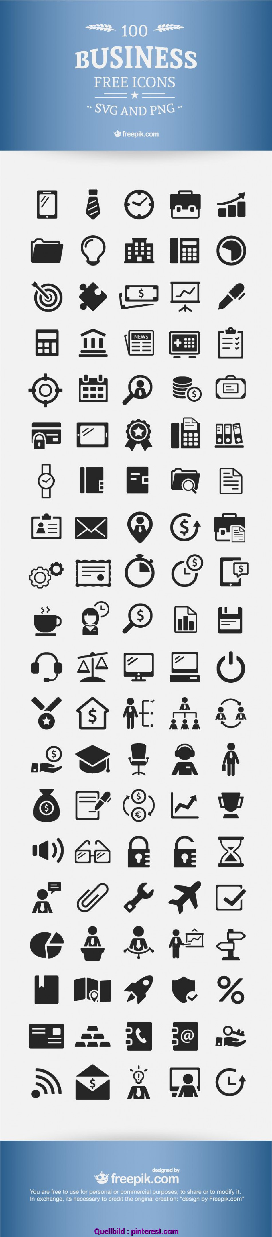 Liebling Download] Free Business Icons, 100% Vectors, Free Stuff