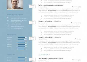 Akzeptabel Lebenslauf-1 More, Resume (D), Pinterest, Cv Format,, Career