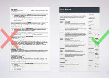 Ausgezeichnet CV, Resume: Difference, Definitions & When To, Which (Samples)