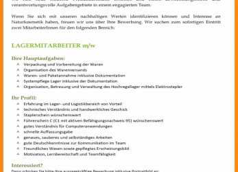 Liebling ... Basic Musterbewerbung Marketing Assistent / 2018-07-18T01:32:40+00