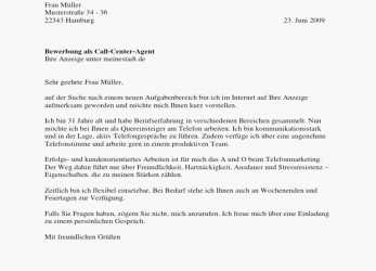 Original Bewerbung Call Center Agent Vorlage Ktforsenate Best Of Call Center Bewerbung Muster