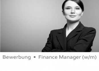 Liebling Deckblatt Bewerbung 44, Finance Manager / Finanzen / Finance Management / Bankberaterin / Bankberater /