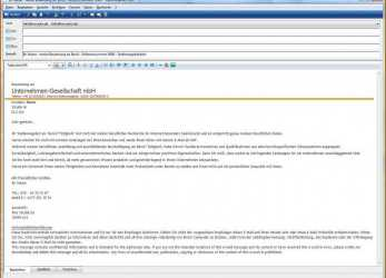 Einfach 58 Examples Bewerbung, Email Muster Kostenlos Simple Step