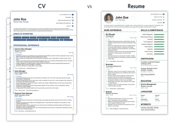 Experte CV Vs Resume, What Is, Difference? [+Examples]