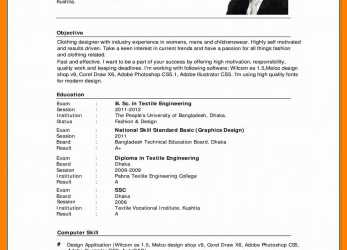 Einfach Cv English Example.Cv In English Sample Vitae English Example Pdf