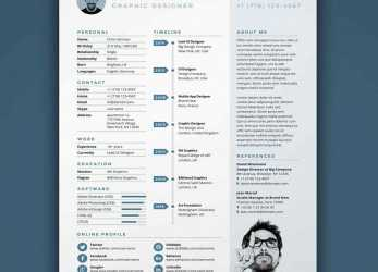 Akzeptabel Free Resume Templates: 18 Downloadable Resume Templates To Use