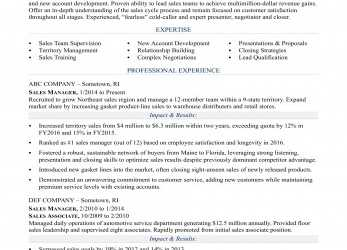 Komplett Sales Manager Resume Sample, Monster.Com