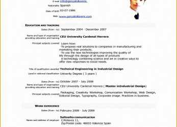 Qualifiziert 5, Resume Format Sample Free Samples Examples