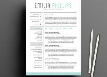 Qualifiziert 50 Creative Resume Templates, Won'T Believe, Microsoft Word
