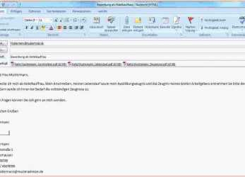 Perfekt 14+ Bewerbung Email Muster, Sscc-Ithaca