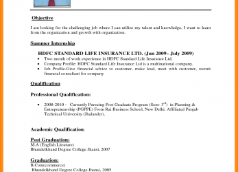 Positiv Dentist Cv Sample, .Simple-Cv-Format-For-Job-Resume-Download-The.Png