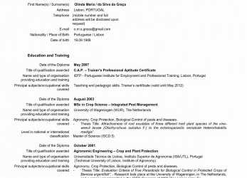 Prämie Europass Cv Online. Formal-Letter-Format-Portuguese-Fresh-New-Cv-Sample