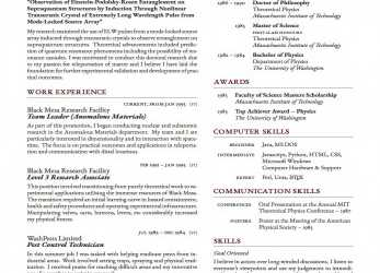Kostbar Latex-Templates-Curricula-Vitae-Resumes