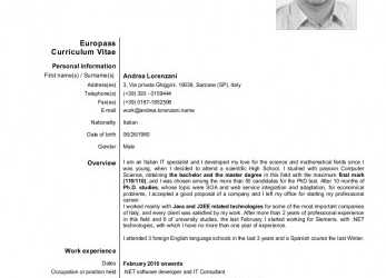 Neu CV In DOC