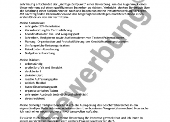 Neueste 83 Templates Bewerbung Formulierung, Any Positions