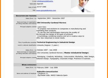 Neu Cv Forms Download.Professionalume-Format-Samples-Free-Download-Unique-Cv- Europass-Pdf-Home-European-Of-Firefox-Part.Png