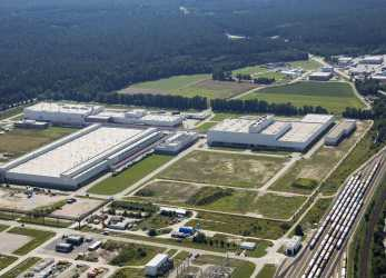 Qualifiziert Audi Manufacturing Facility Münchsmünster (Aerial Photograph)