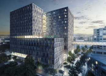 Erweitert Inselspital Bern, Main Building, ASTOC Architects, Planners