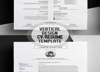 Kostbar 50 Best Resume Templates, 2018, Design, Graphic Design Junction