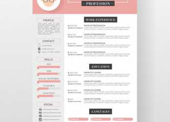 Frisch Free Resume Templates Graphic Design #Design #Freeresumetemplates #Graphic #Resume #Templates