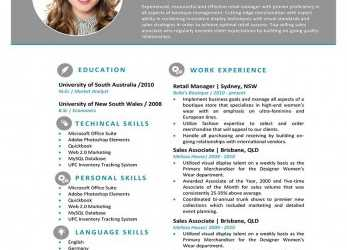 Oben 18 Free Resume Templates, Microsoft Word, Resume Template Ideas