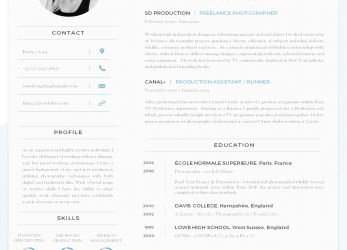 Experte Modern Resume Template Download