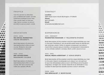 Einfach Cv #Template, Resume, Pinterest, Currículo Criativo