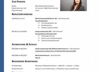 Frisch 14 Sample Download Lebenslauf Vorlage, Fresh Graduates