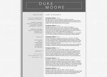 Vorhanden Indesign Lebenslauf Vorlage Luxus Indesign Resume Template, Resume Indesign Template