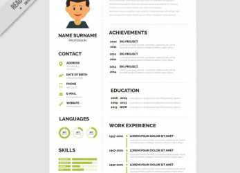 Beste ..., Cv Templates Free Download Word, Unlimited Regarding Resume Superb Format Template Ideas Unusual Downloads