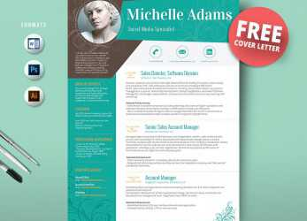 Original 50 Creative Resume Templates, Won'T Believe, Microsoft Word