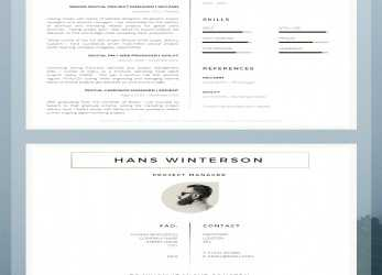 Original 43 Modern Resume Templates, Guru