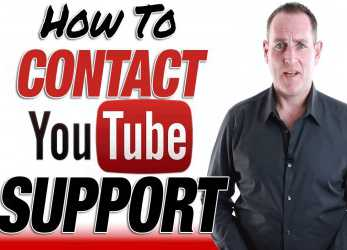 Neu YouTube Support -, To Contact YouTube