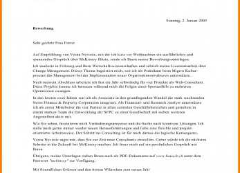 Original Anschreiben Mckinsey Management Consulting Cover Letter, 28 Images Cover