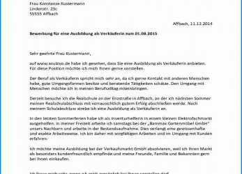 Positiv 15+ Bewerbung Immobilienkauffrau Muster Parenthetical Note