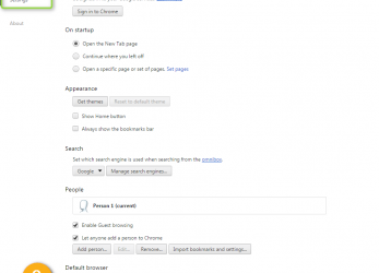 Erweitert At, Bottom Of, Page, Click On Link Show Advanced Settings