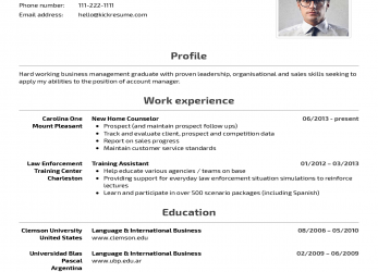 Erweitert Kickresume, Perfect Resume, Cover Letter, Just A Click Away
