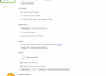 Frisch At, Bottom Of, Page, Click On, Show Advanced Settings Link