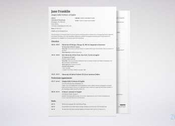 Wertvoll CV, Resume: Difference, Definitions & When To, Which (Samples)