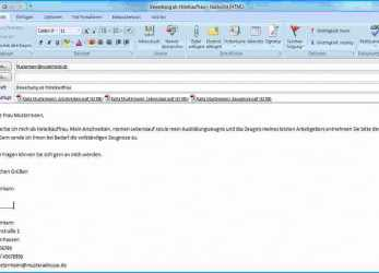 Positiv Bewerbung, Email Text Muster 10 Bewerbung, Email Text